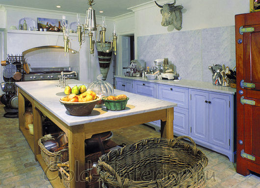 Стиль винтаж в интерьере кухни