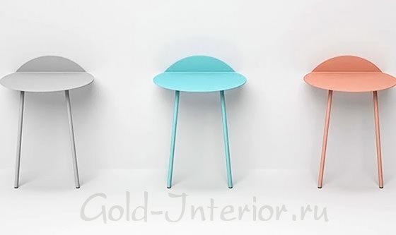 Цветные столики Kenyon Yeh