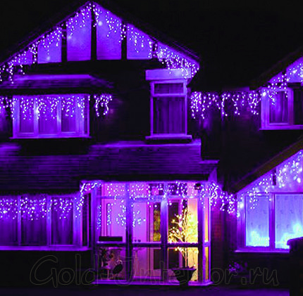 Светодиоды фиолетового цвета