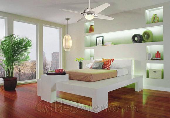 Светодиодная лента в спальне