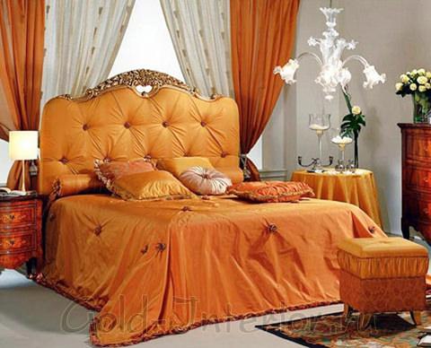 Текстиль в итальянской спальне