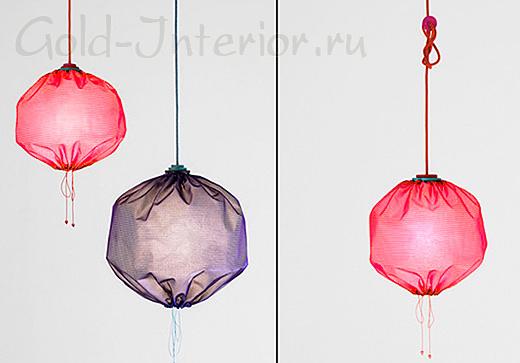 Текстильные абажуры от дизайнеров Merry-Go-Round