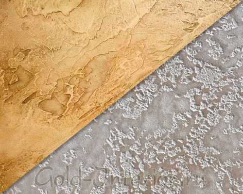 Текстура рельефных обоев