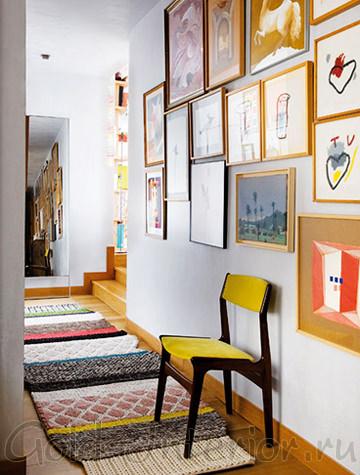 Украшаем коридор картинами-рисунками
