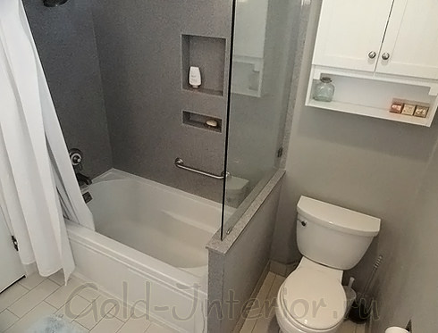 Два в одном: ванна и душевая кабина