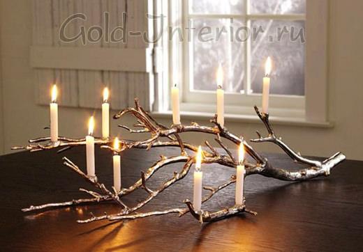 Ветки и свечи