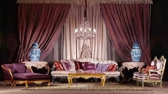 Викторианские кресла и диван