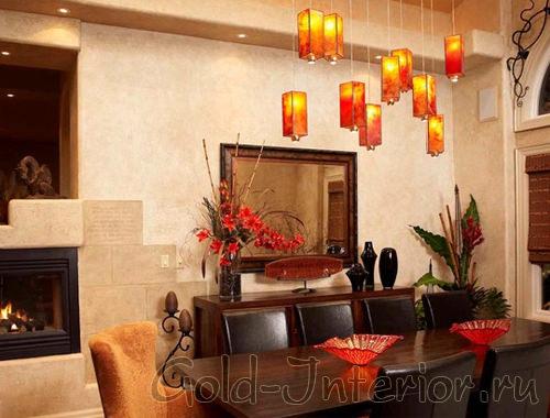 Восточный стиль с китайскими мотивами