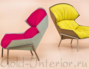Яркие кресла от Patricia Urquiola