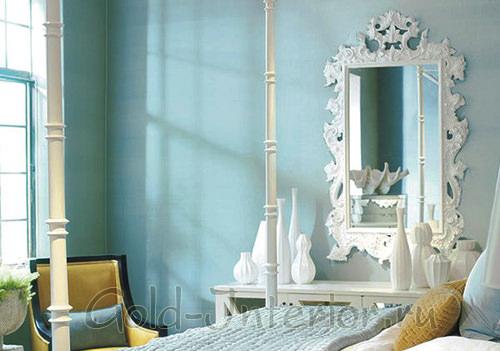 Зеркало в раме - викторианский стиль