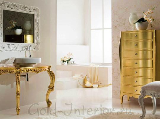 Золотое покрытие, характерное для стиля барокко